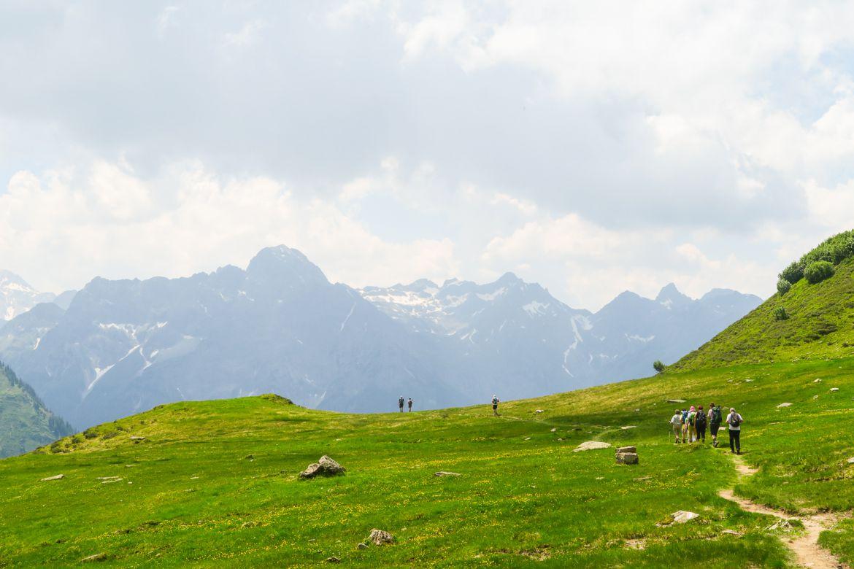Hüttenwanderung im Bregenzerwald
